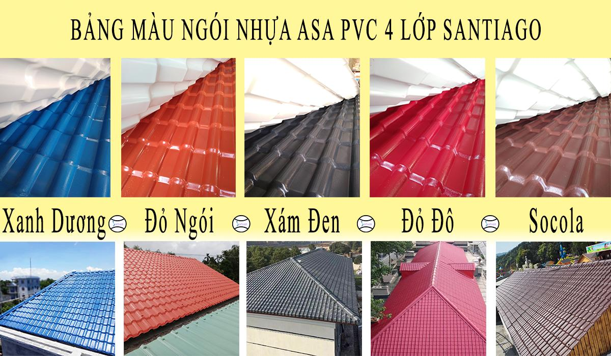 Bán Ngói Nhựa PVC ASA Siêu Bền Màu Giá Rẻ Tại Vũng Tàu