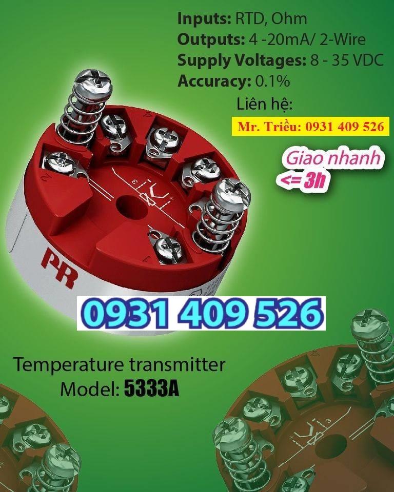 Chuyển đổi tín hiệu nhiệt độ PR 5333A