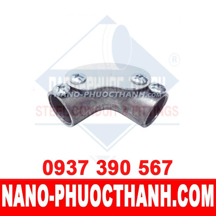 Co đúc ống thép luồn dây điện trơn EMT 90º - NANO PHƯỚC THÀNH