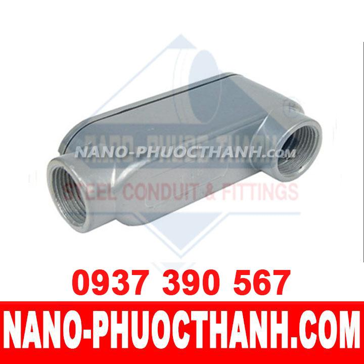 Hộp nối kín nước LB dùng cho ống thép luồn dây điện ren IMC - NANO PHƯỚC THÀNH