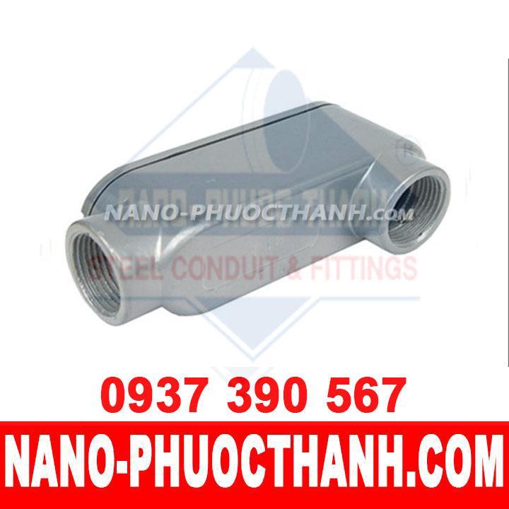 Hộp nối kín nước LB dùng cho ống thép luồn dây điện ren IMC - NANO PHƯỚC THÀNH