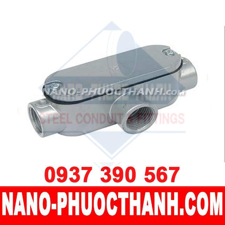 Hộp nối kín nước T dùng cho ống thép luồn dây điện ren IMC - NANO PHƯỚC THÀNH