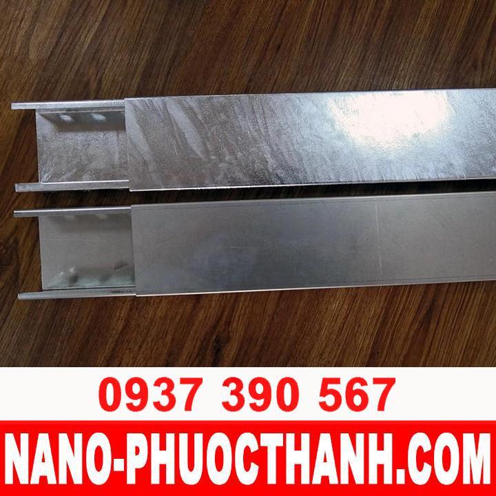 Máng cáp Cable Trunking - 100x50 - NANO PHƯỚC THÀNH