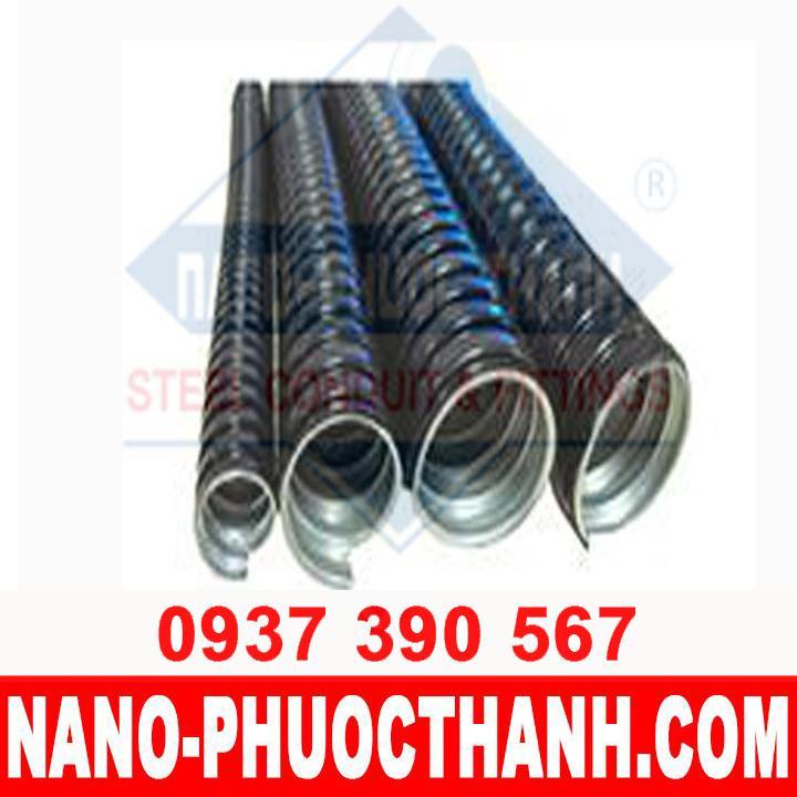 Ống ruột gà lõi thép bọc nhựa PVC - chất lượng - NANO PHƯỚC THÀNH