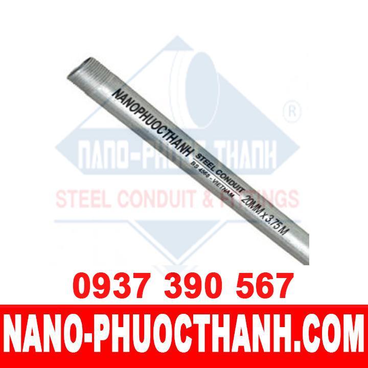 Ống thép luồn dây điện BS4568 - chất lượng - Nano Phước Thành
