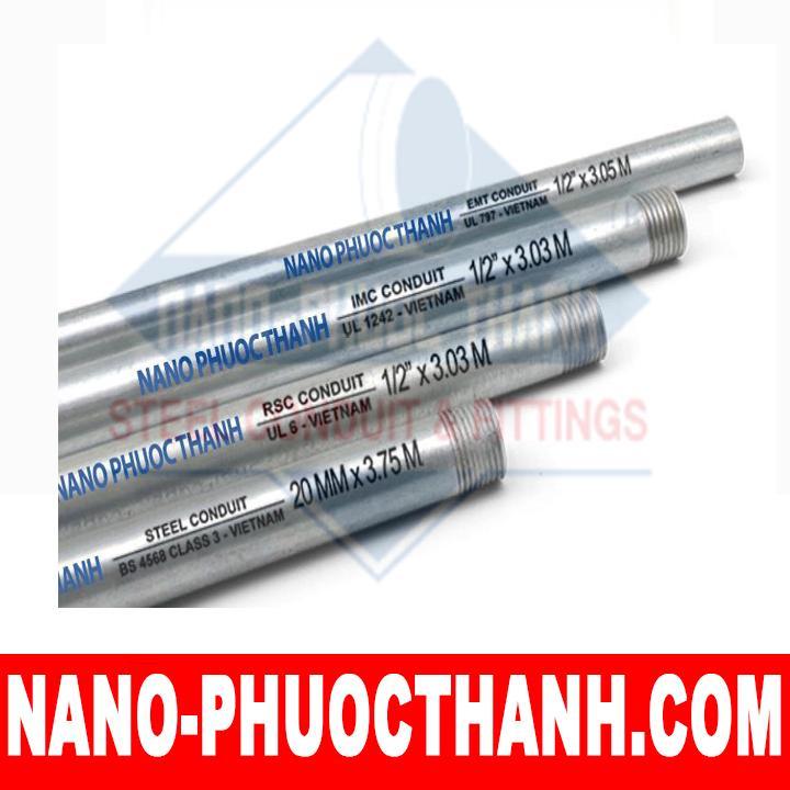 Ống thép luồn dây điện ren  RSC - NANO PHƯỚC THÀNH