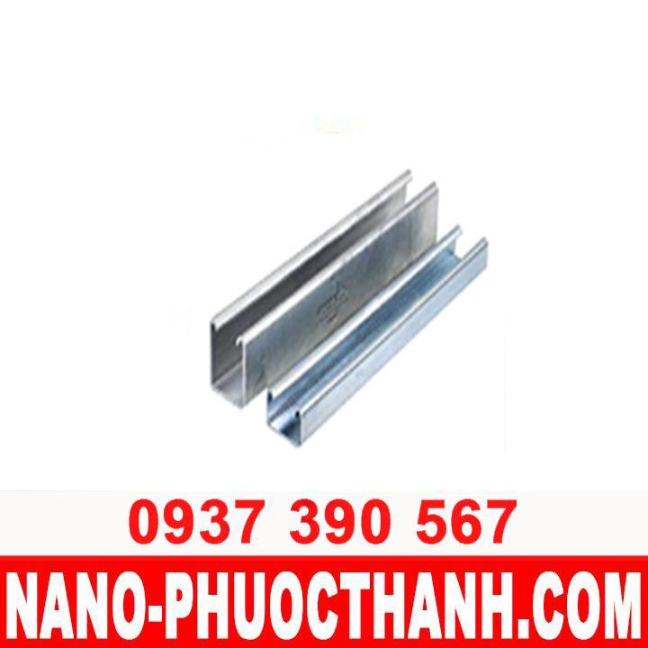 Thanh chống đa năng inox 304 - UNISTRUT 41 x 41 X 1.5 - NANO PHƯỚC THÀNH