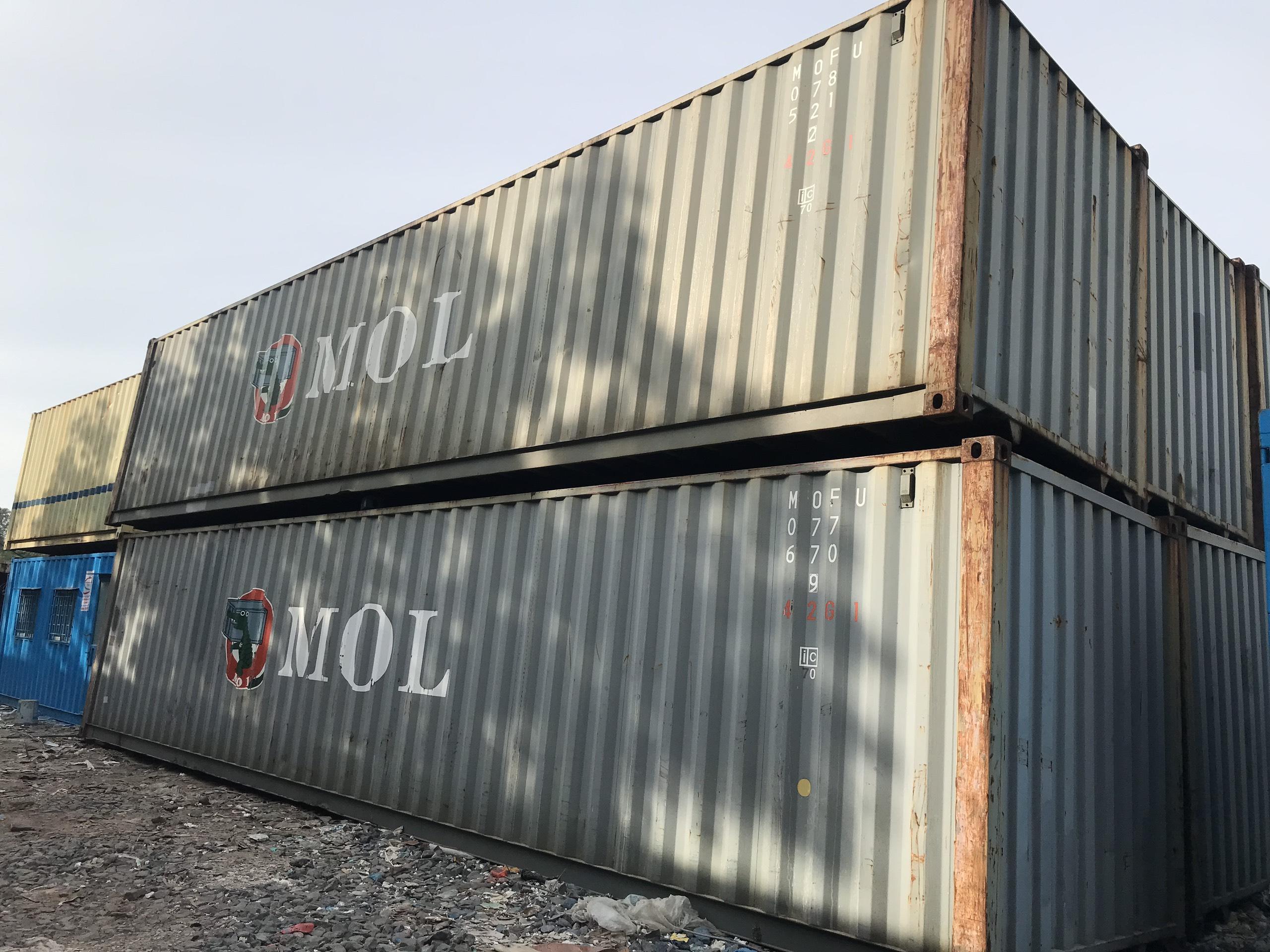 Container giá rẻ chất lượng