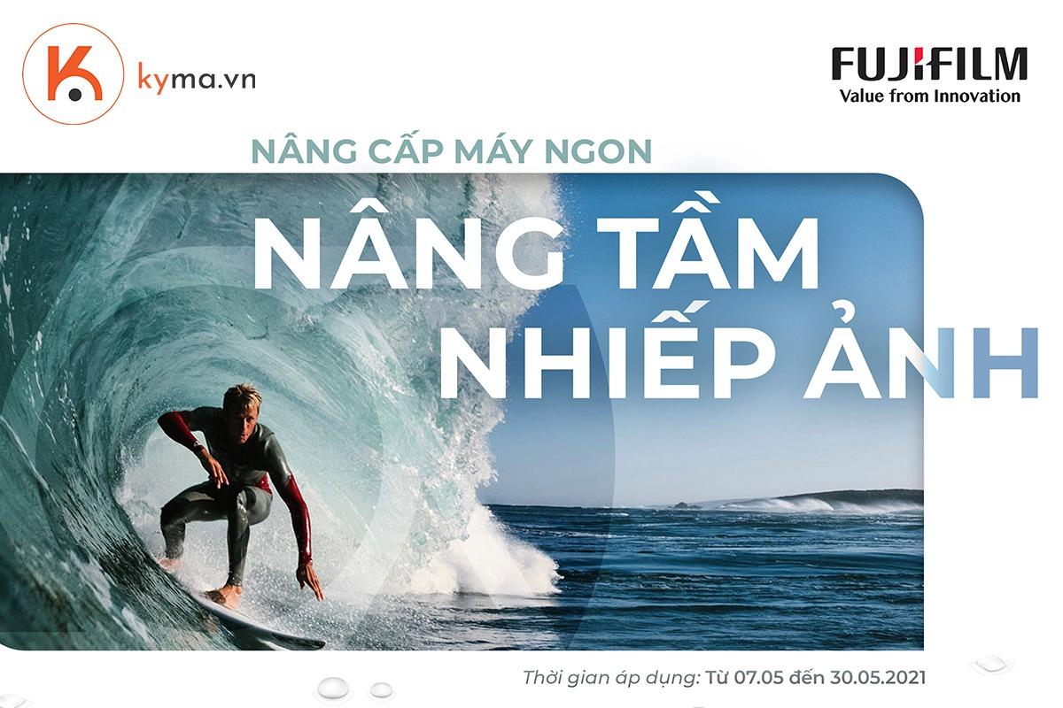 Máy ảnh Fujifilm giảm giá sốc 2- 3 triệu trong tháng 5/2021