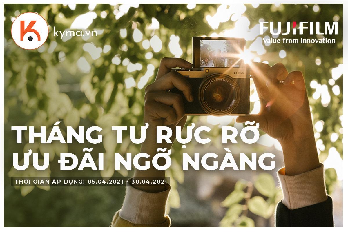 Sale máy ảnh Fujifilm - giảm giá cực sốc trong tháng 4/2021
