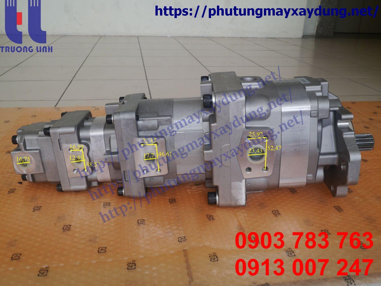 Bơm thủy lực xe xúc lật Komatsu WA200-6 - Bơm thủy lực Komatsu WA200-6 705-56-36090