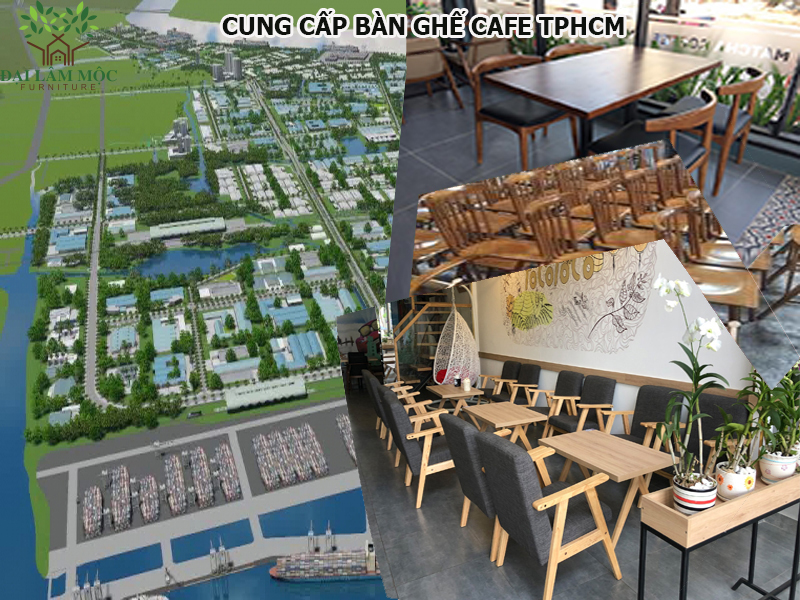 Cung cấp bàn ghế cafe tại các KCN và KCX trên địa bàn TP.Hồ Chí Minh