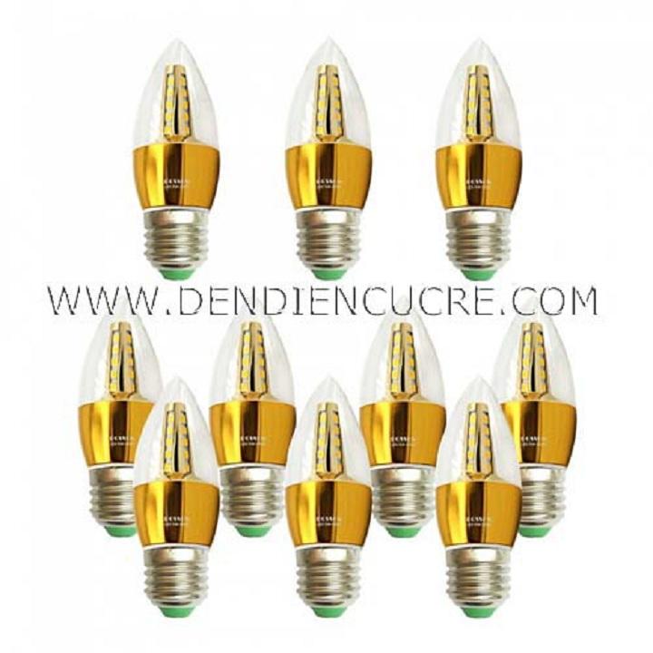 Combo 10 Bóng đèn Led nhót 5w quả nhót đuôi E27