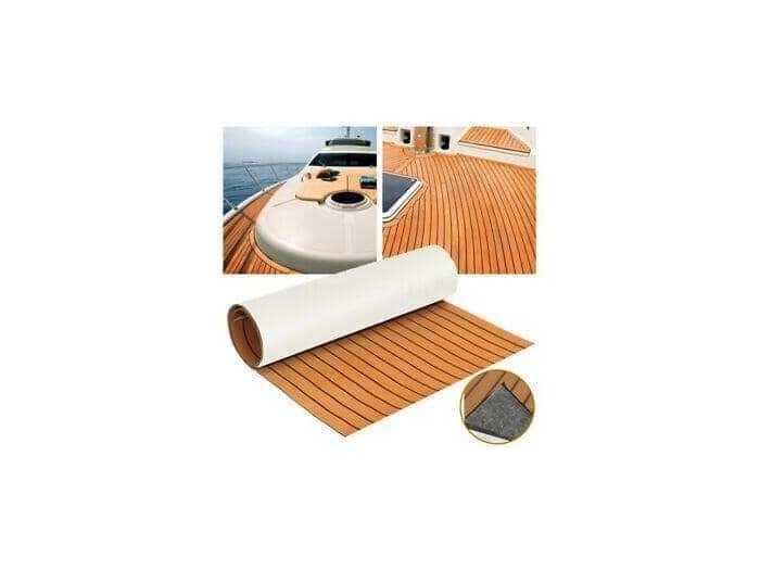 Thảm Lót Sàn Cano 3M , Giả gỗ Teak EVE