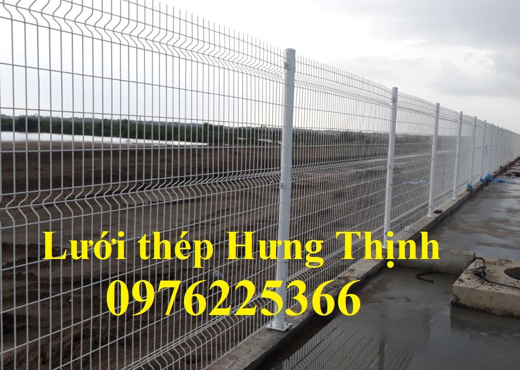Hàng rào mạ kẽm, lưới thép mạ kẽm sơn tĩnh điện