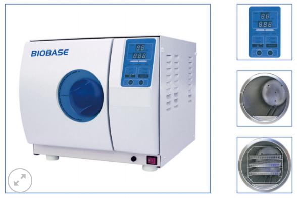 Nồi hấp tiệt trùng Biobase (Table Top Autoclave Class N Series) - Thiết bị cho phòng Lab - ILAB