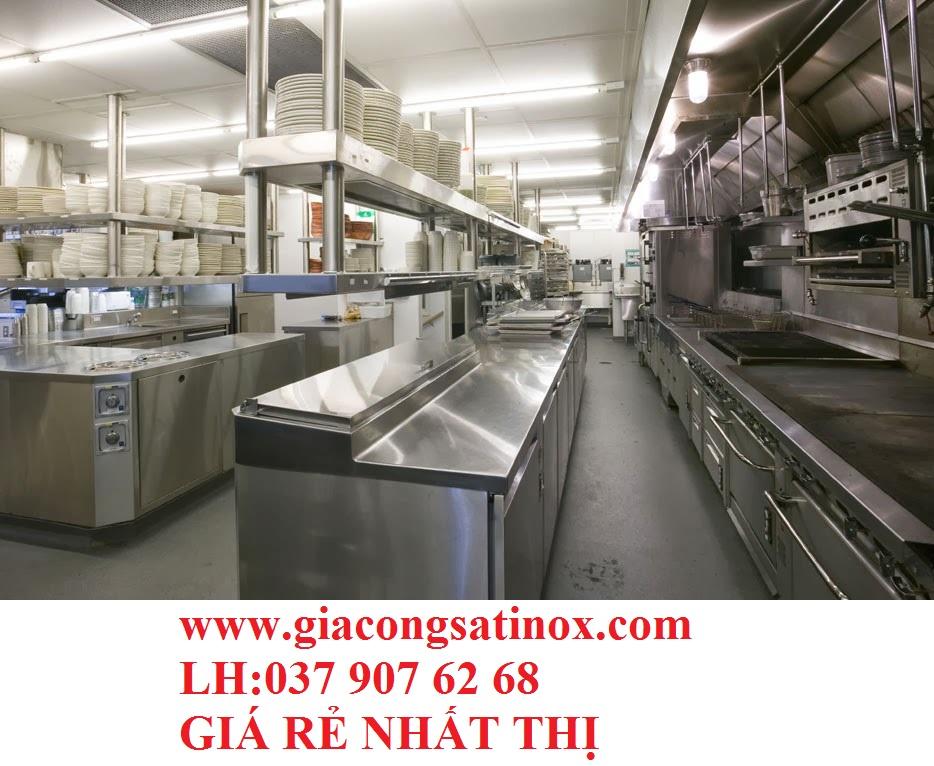 Dịch vụ thiết kế và sản xuất thiết bị bếp inox công nghiệp