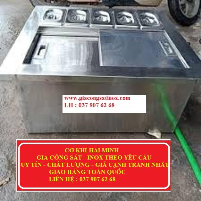 Gia công thùng đá inox giá rẻ nhất TPHCM