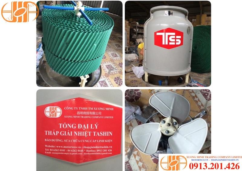Tháp giải nhiệt nước Tashin 5RT: Cấu tạo và công suất