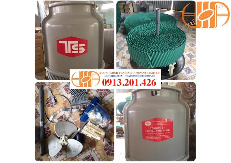 Tháp giải nhiệt nước Tashin 8RT: Công suất và cấu tạo