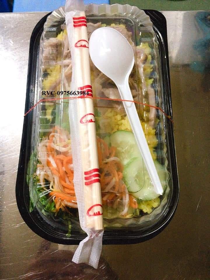 Hộp Nhựa Đen Đựng Thức Ăn HT17 TP.HCM