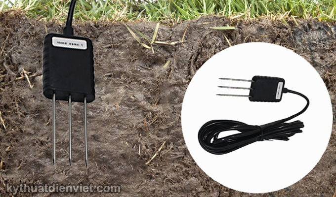 Cảm biến đo ẩm đất