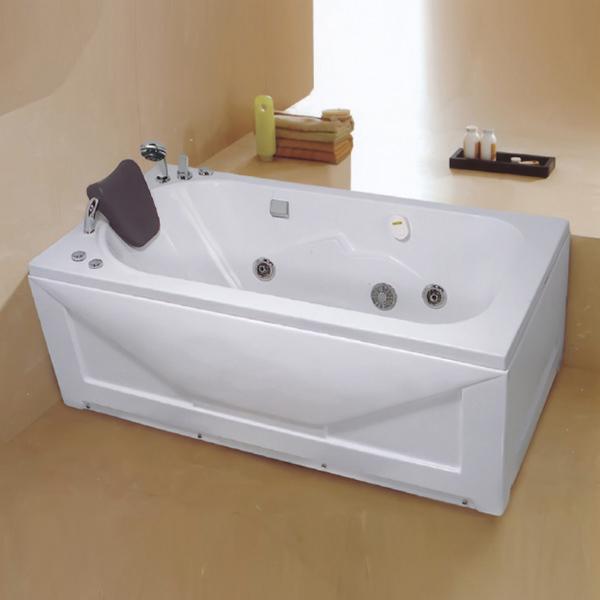 Acrylic Massage Bathtub Include Faucet-LX-223