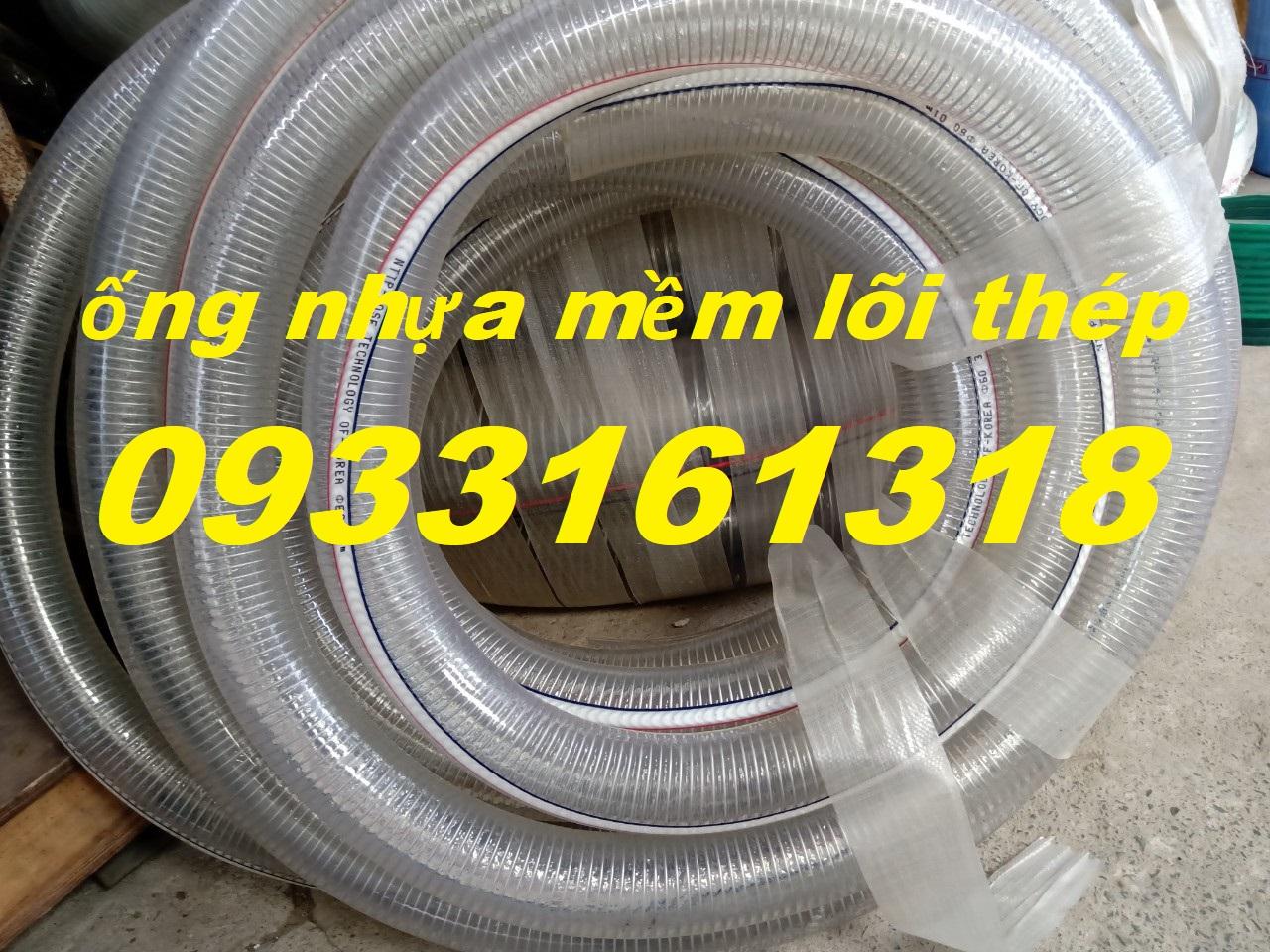 Ống nhựa mềm lõi thép, ống nhựa xoẵn kẽm, ống nhựa mềm pvc