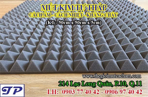 Mút kim tự tháp (KT: 50cm x 50cm x 5cm)