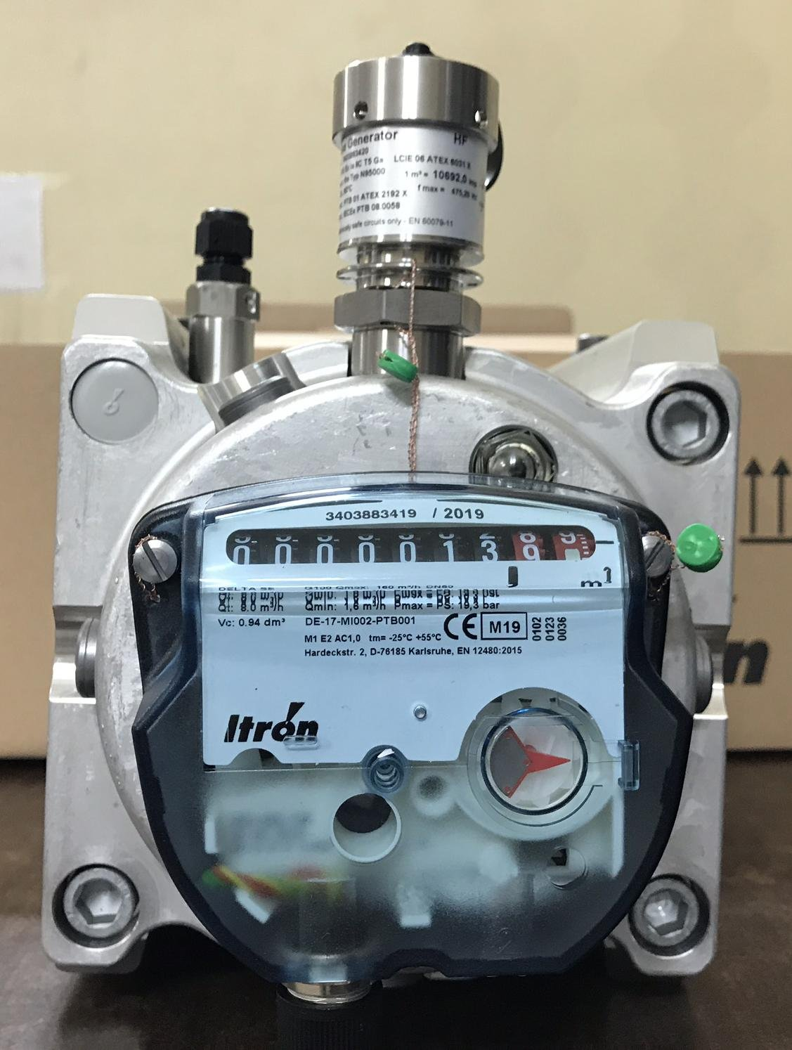 Đồng hồ gas ITRON- Delta Rotary Meter