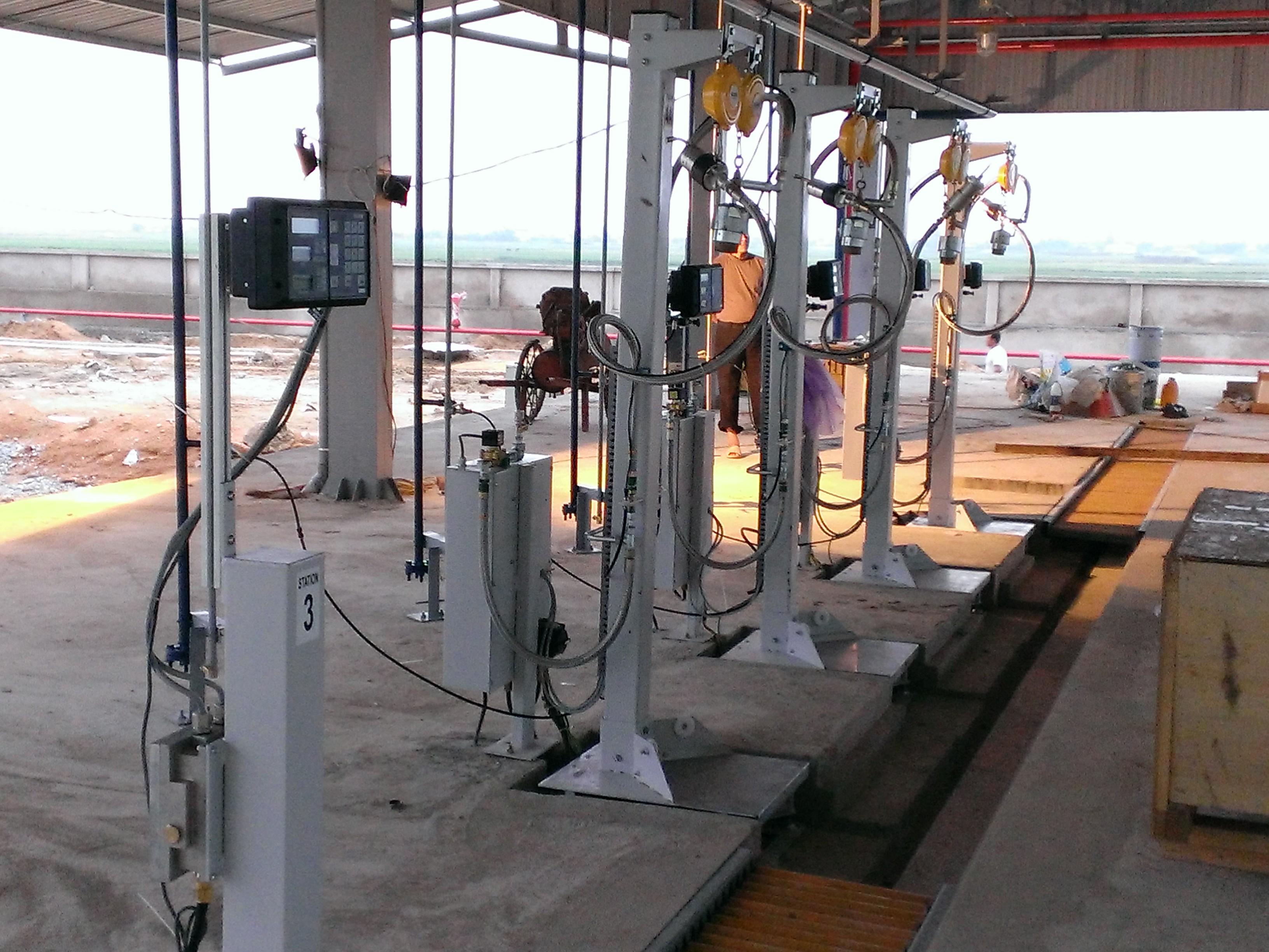 Máy nạp LPG loại EK 670 C2 - Hãng Kosel