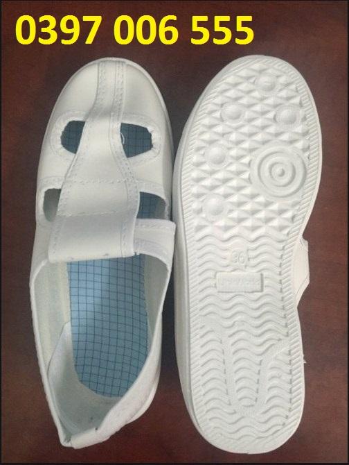 Giày phòng sạch Linkworld 4 lỗ