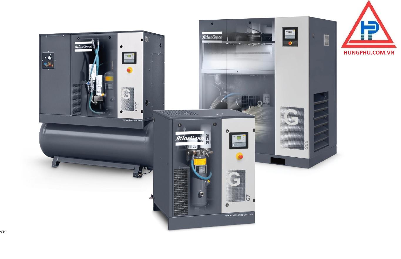 Máy nén khí trục vít có biến tần dòng GA 37-110 VSD+