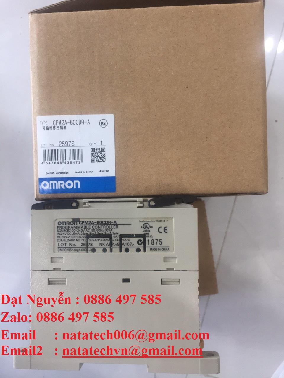 CPM2A-60CDR-A-Omron-Bộ Lập Trình,