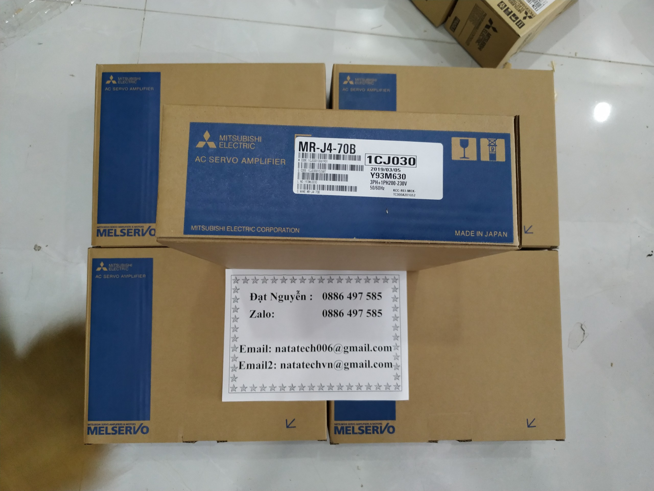 MR-J4-70B-Amplifier- Mitsubishi,
