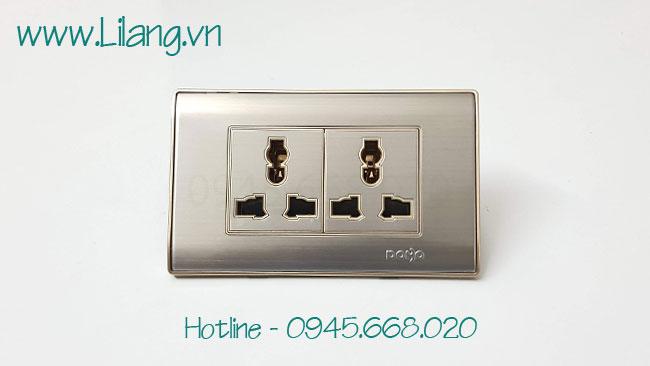 Ổ cắm điện 3 chấu Dobo A80-88819