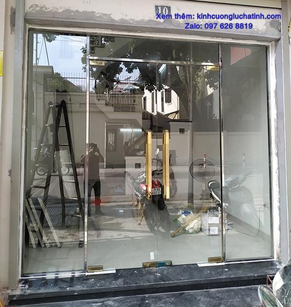 Cửa kính cường lực ở Hà Tĩnh