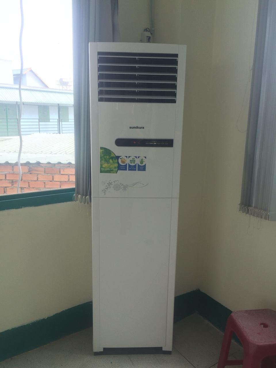 Đại lý chuyên lắp đặt máy lạnh tủ đứng giá rẻ