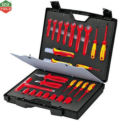 Bộ dụng cụ cách điện VDE 1000V Standard Tool Case Knipex 26 chi tiết
