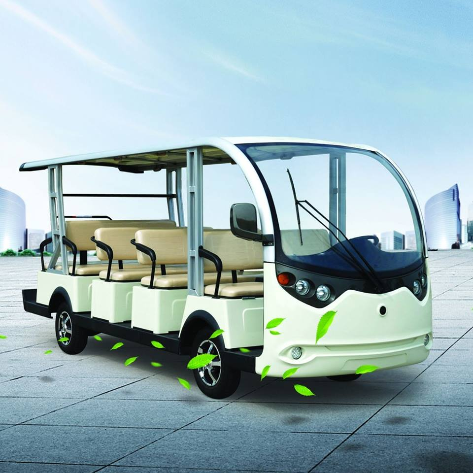 Xe điện 14 chỗ LVTONG Nhập khẩu mới 100%