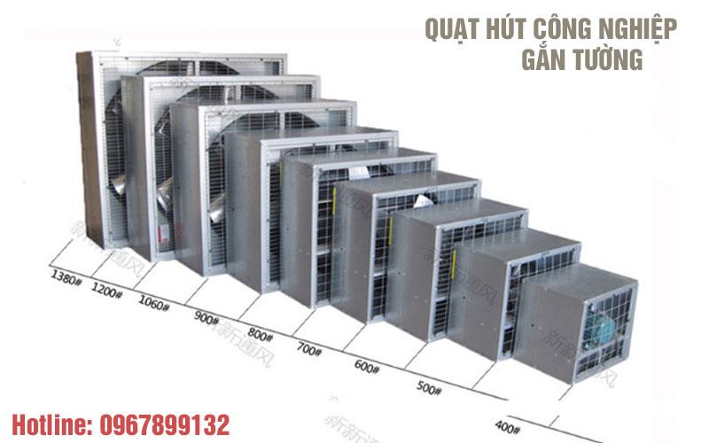 Địa chỉ báo giá quạt hút công nghiệp 400x400, 600x600 rẻ nhất