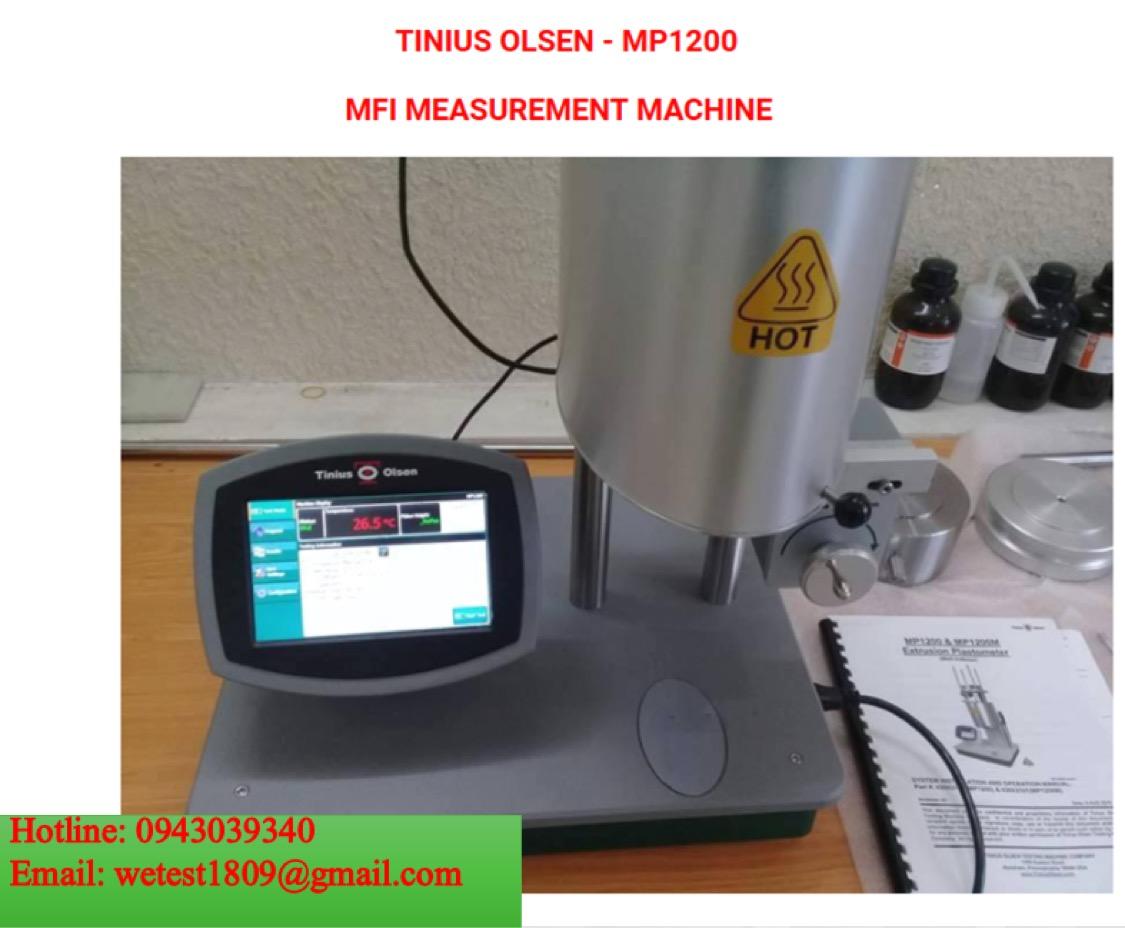 Máy kiểm tra tốc độ chảy của nhựa- Tinius Olsenn