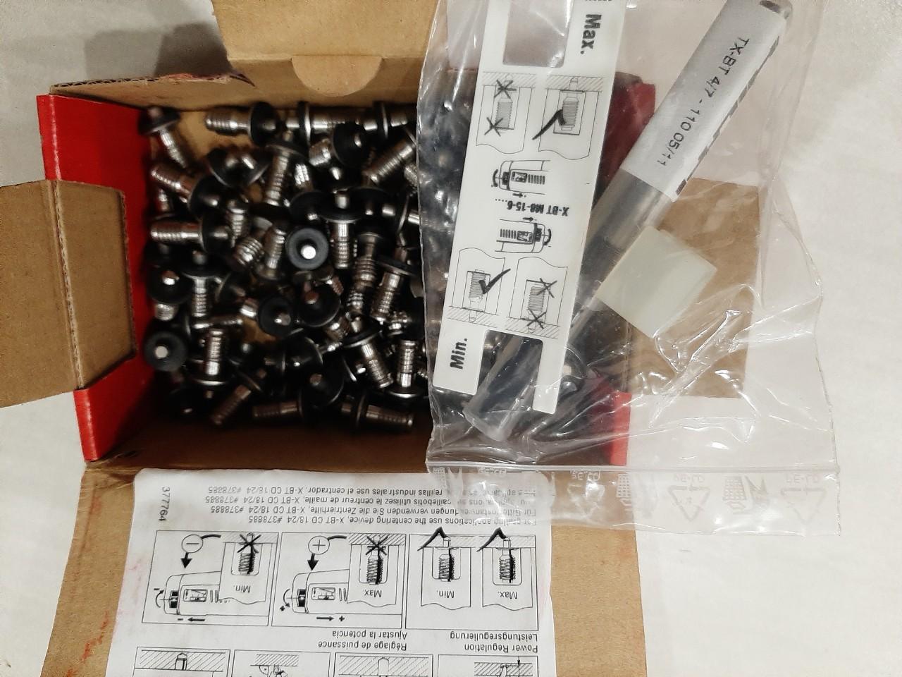 Vít cấy Hilti X-BT M8-15-6 SN12-R #377074