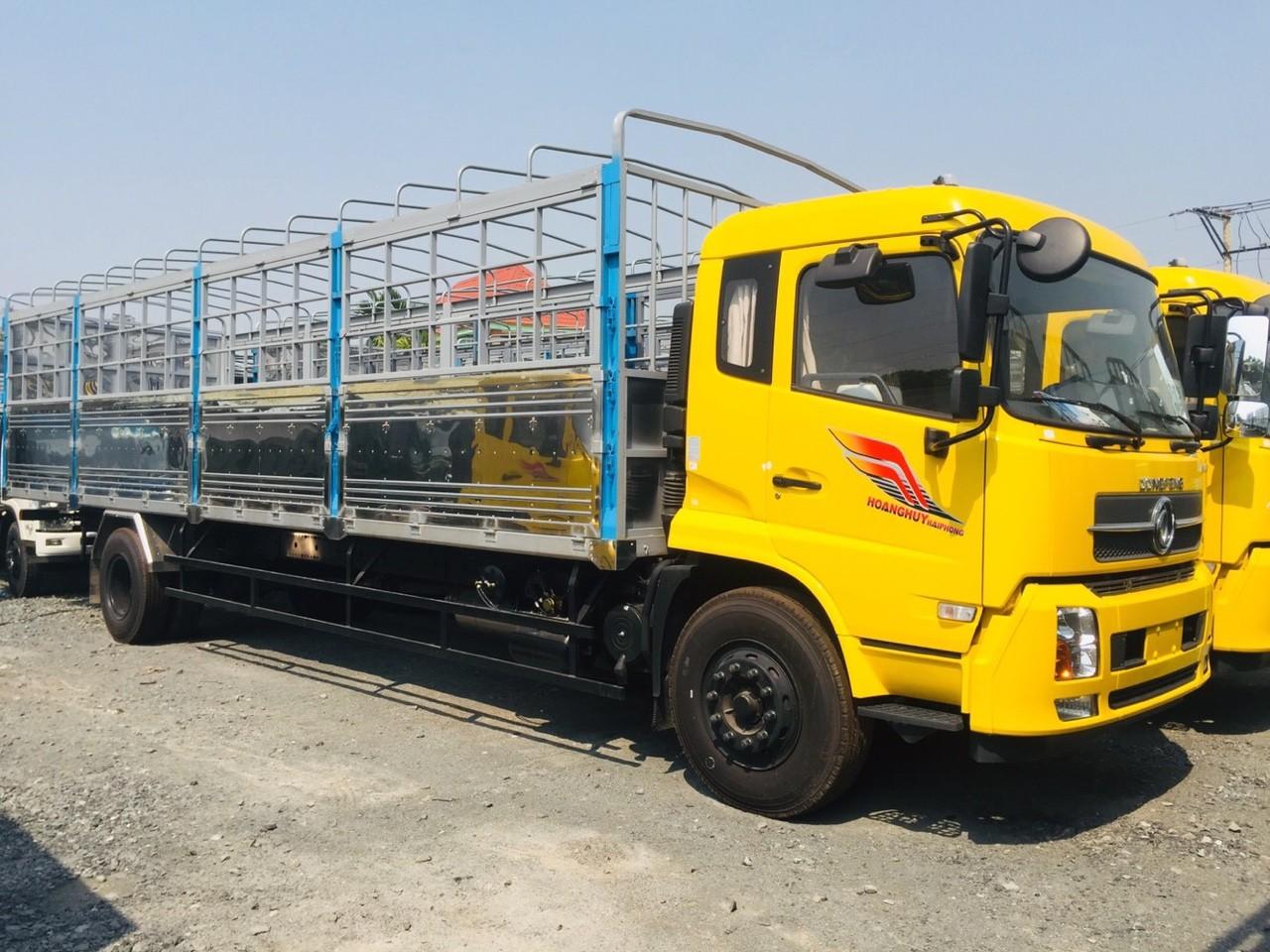 xe tải Dongfeng B180 nhập khẩu - Dongfeng 8 tấn thùng dài 9m5