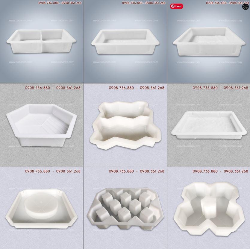 Công ty sản xuất khuôn gạch lát vỉa hè, khuôn gạch block chất lượng.