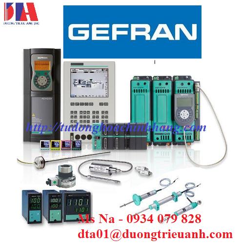 Chuyên phân phối thiết bị Gefran Việt Nam