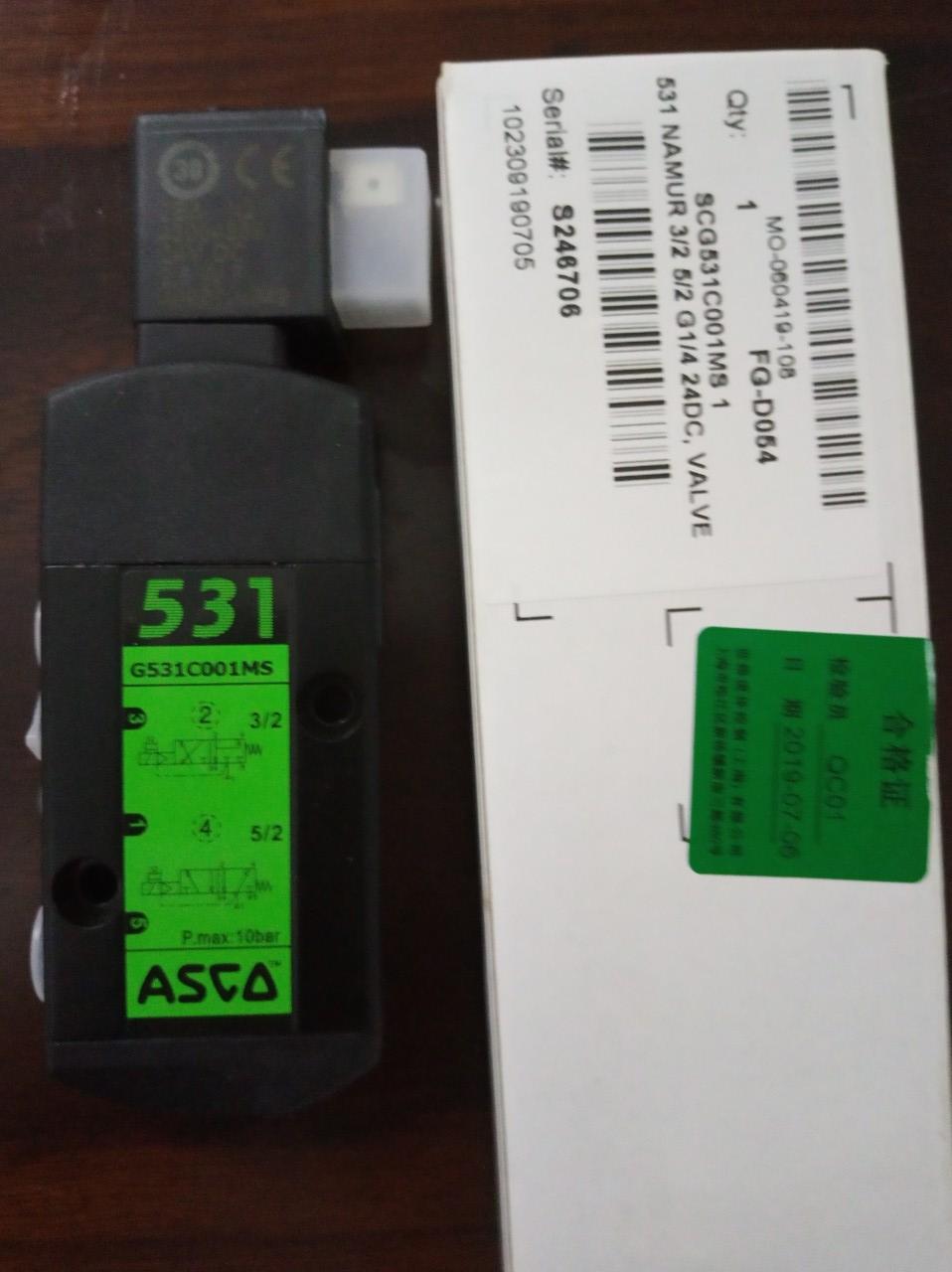 Van điện từ ASCO FG-D054