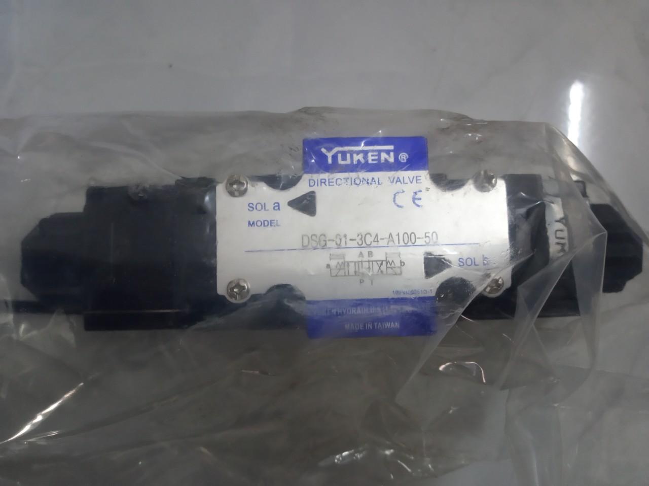 Van thủy lực YUKEN DSG-01-3C4-A100-50