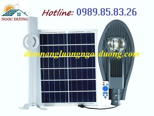 Đèn đường chiếc lá năng lượng mặt trời 50W