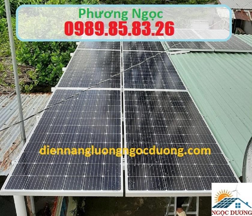 Hệ thống điện năng lượng mặt trời hòa lưới 3W